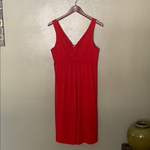 Essentials by ABS Red Sundress